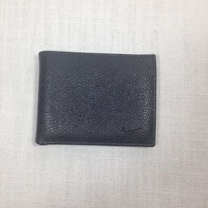 Nike GOLF Wallet Bifold Slim Pebbled Leather